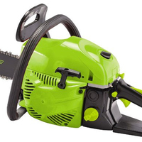 Garden tools gasoline chainsaw 52cc with oregon saw chain