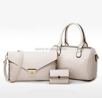 c561c7996b factories in china ladies bags brands 3pcs set PU leathernewest pictures lady  fashion handbag