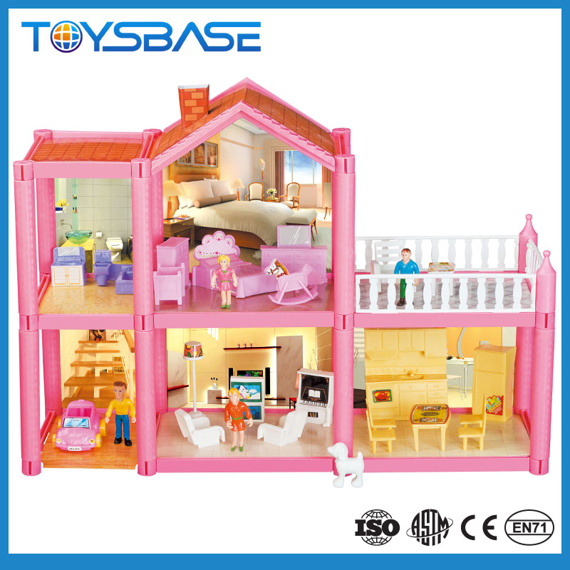 Doll House Furniture Miniature Beautiful Villa Toys Houses Series For Kids Big Doll House Buy Big Doll House Diy Doll House Doll House Furniture