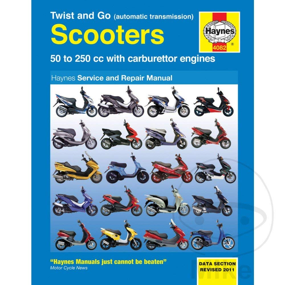 Get Quotations · Haynes Twist and Go Scooters Manual 4082