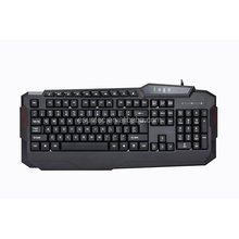 Waterproof USB wired multimedia ergonomic private gaming keyboard for Gamer KM-829