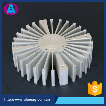 China OEM factory supplier large aluminum heat sink