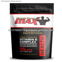 Muscle Power Max Foil Pack Vitamin B Complex High Strength Tablets Wholesale Diet Supplements