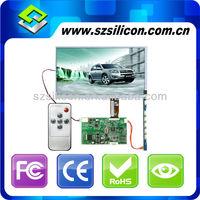 flexible car monitor 7inch TFT LCD display add VGA Driver board