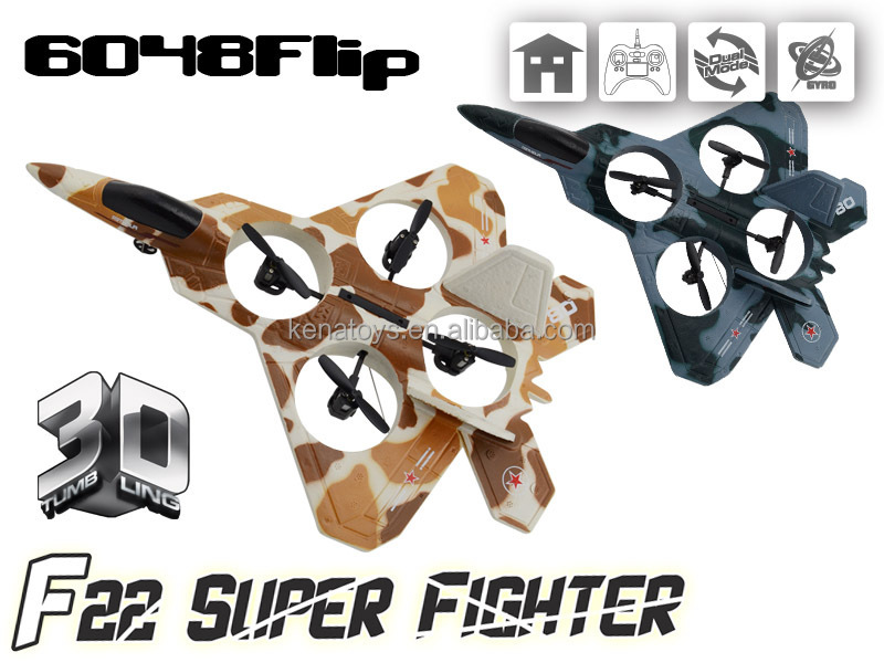 Tope Sale 2.4g Rc 3d Stunt 4channel F2 Super Figther Air Plane ...