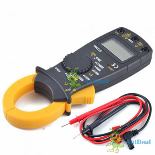 AntDeal A wise choice Digital LCD AC DC Multimeter Voltmeter Ohmmeter Ammeter Tester Carabiner #3 Fancy!