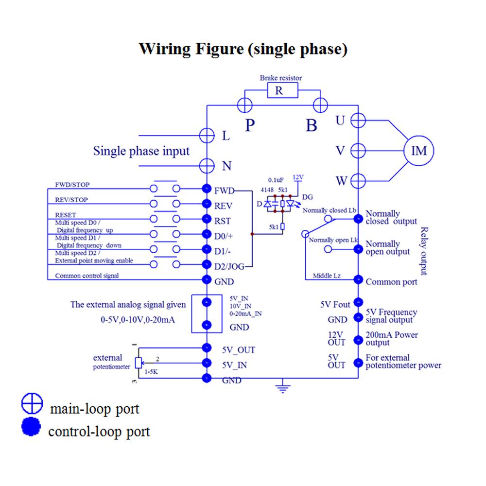 2.2KW 220V /110V Variable VFD NEW 3HP Frequency Drive Inverter