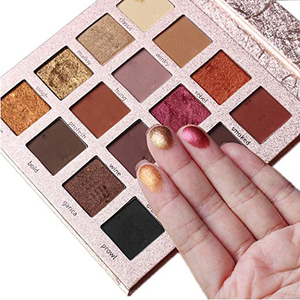 Private Label Make Up Cosmetics Custom eyeshadow palette with logo