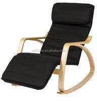 rocking chair, bentwood recliner chair, livingroom relax chair