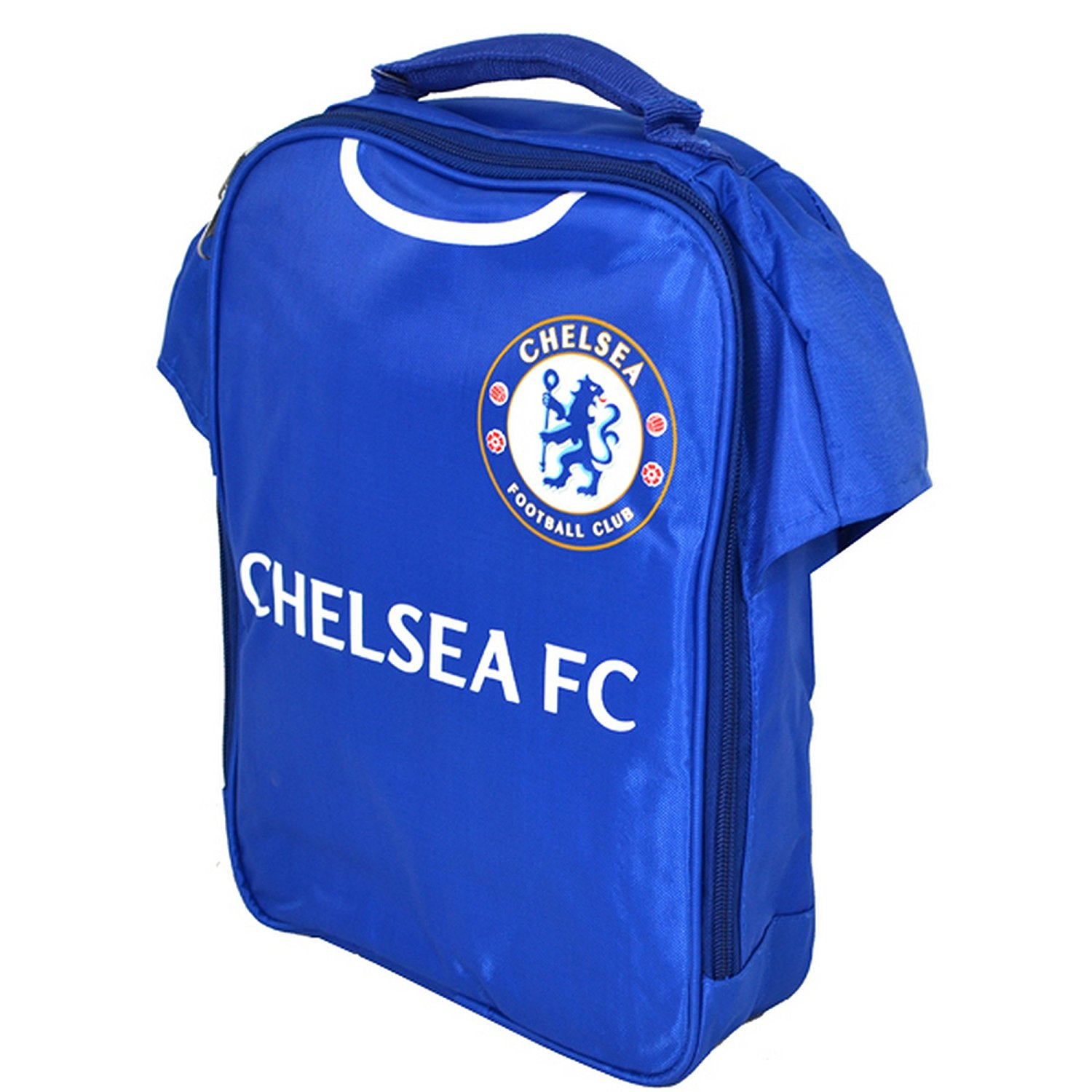 aac4f1de4eef9 Get Quotations · Chelsea FC Official Kit Lunch Bag (One Size) (Blue)