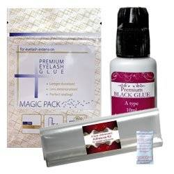 Eyelash Extensions Adhesive Glue A Type Advanced kit / Comes with preserving pack / Individual Eyelash Extensions / Semi Permanent Eyelash Extensions / Fake Eyelashes / Eyelash Extension / False Eyelash Extensions / Lash Extensions / False Eyelashes by HSC