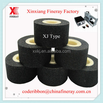 Solid ink coding machine to print batch date stamp 36mm*16mm hot printing ink roll