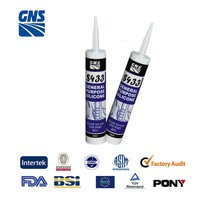 anti-fungus silicone rubber adhesive glue white