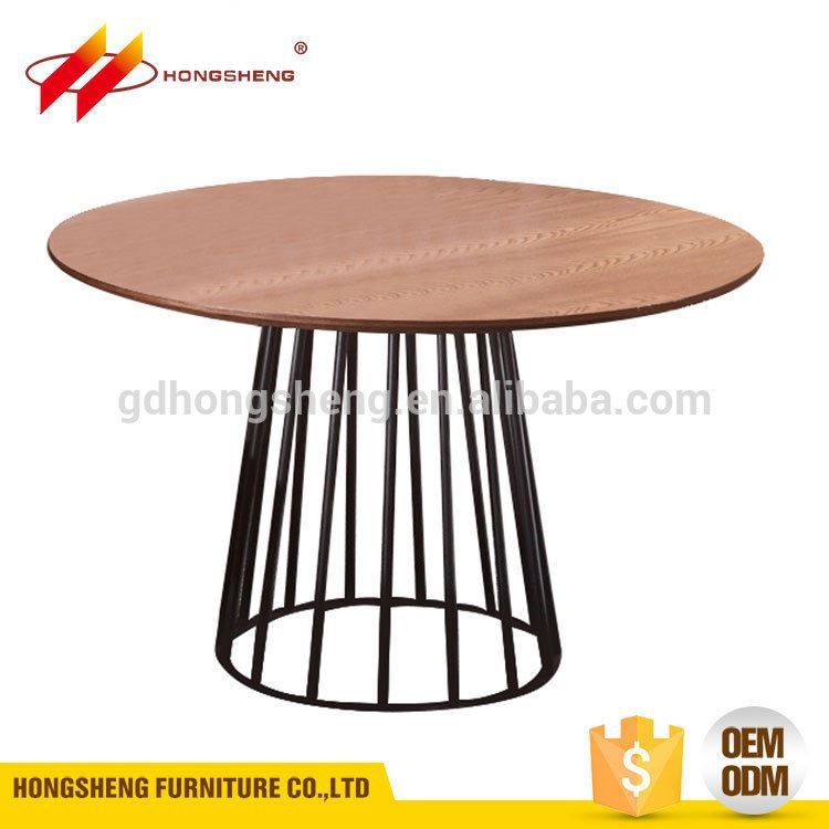 New Design solid wooden table formal living room furniture