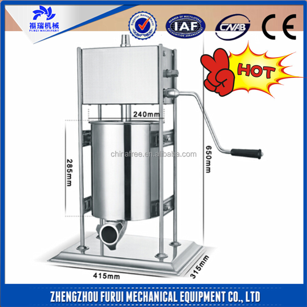 Hot Industrial sausage production line/sausage stuffing machine electric