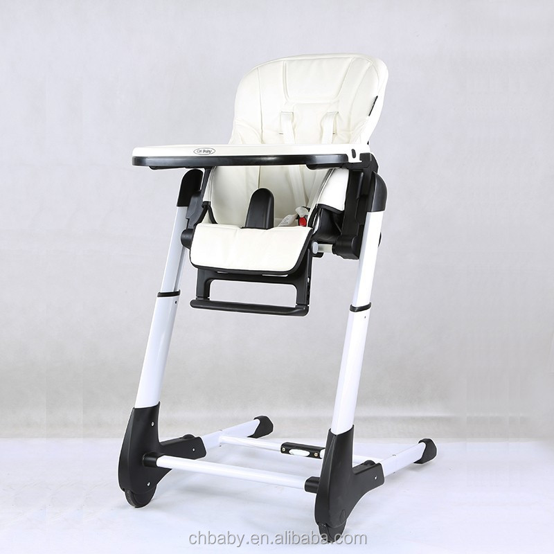 Can stand when folded baby dining chair baby high chair