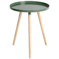 modern round metal side coffee end table for Living room and office