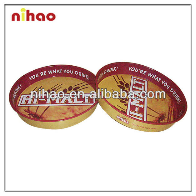 2015 High Quality Promotional Non-slip Metal Bar Tray