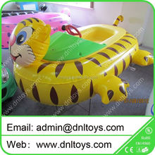 funny summer promotion children play pvc inflatable electric water bumper boat for sale