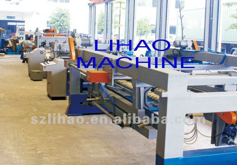 slitting line with decoiler and recoiler,steel sheet of slitting of machine