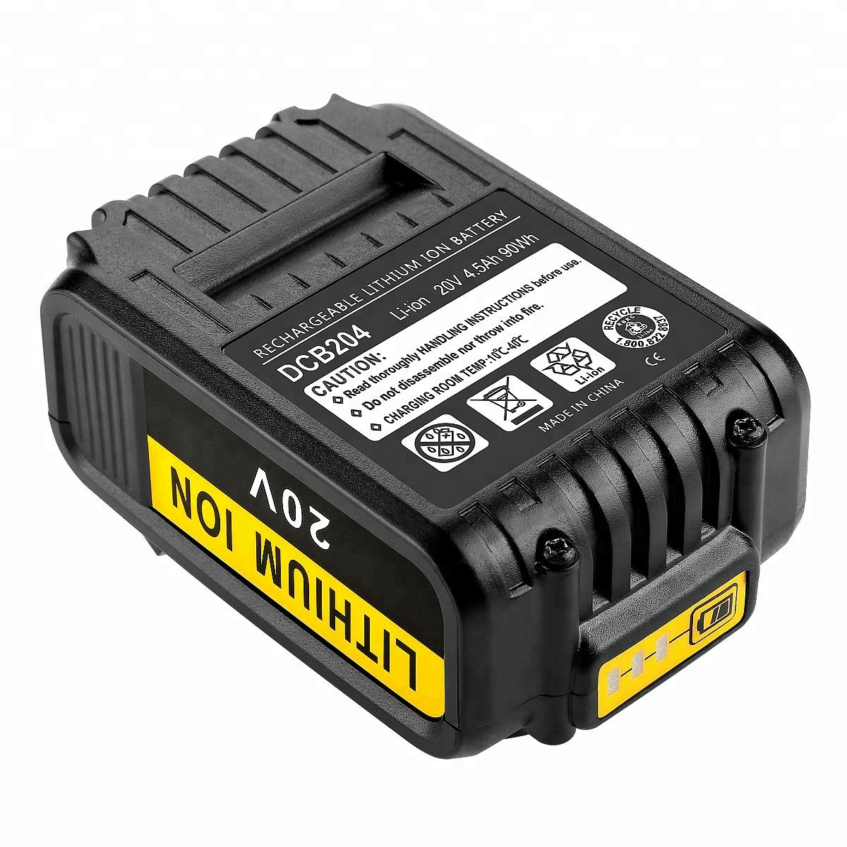 Replacement Dewalt Battery Suppliers And Baterai Cordless 18v 40 Ah Asli Manufacturers At