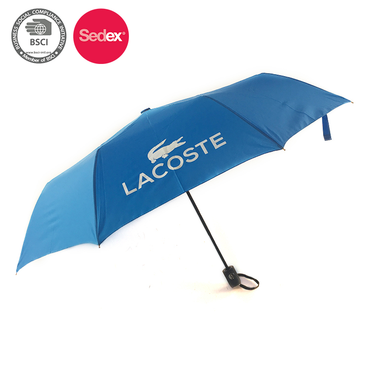 China manufacturer 3folding umbrella customized big folding umbrella