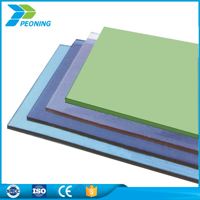 Waterproof polycarbonate 4mm thickness uv resistance thermoplastic