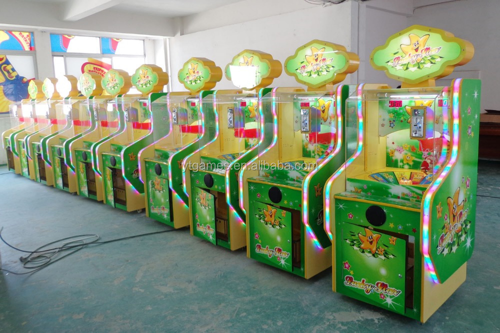 new lottery machine arrive !!! lucky star jackpot prize ticket redemption arcade game machine game zone device for sell