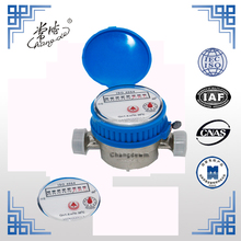 Class C, DN15 brass single jet dry type water flow meter, Domestic Water Meter