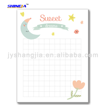 customized printing promotion sticky note memo pad for office family