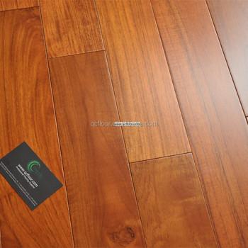 Indonesian Solid Teak Wood Flooring 18mm Parquet