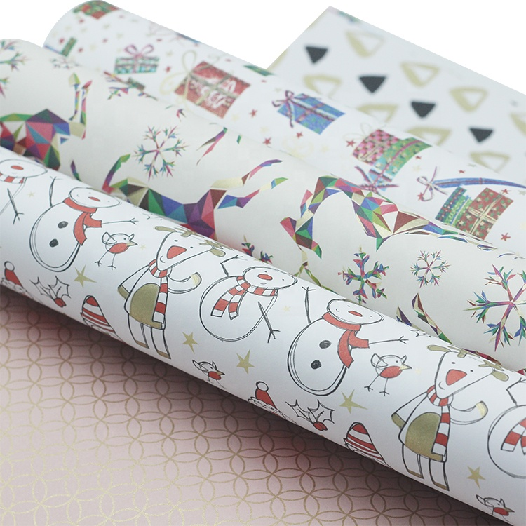 Gift wrap <strong>paper</strong> 12 designs wrapping <strong>paper</strong> book with gold brush in stock
