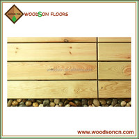 pine outdoor wooden decking portable floor