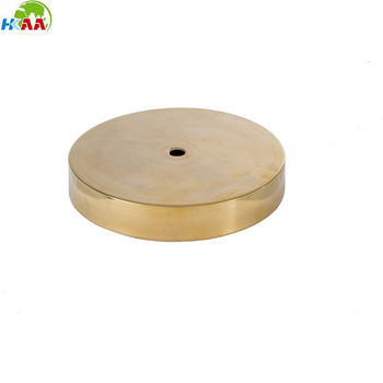 High End Cnc Milling Custom Brass Table Lamp Base From China