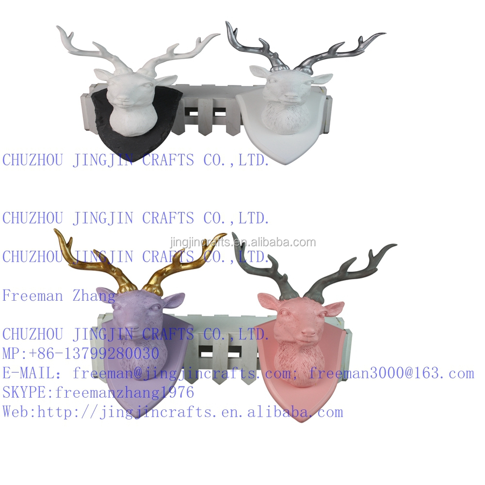 White deer head home decorationpolyresin white deer head2016 white deer head home decorationpolyresin white deer head2016 popular best selling resin amipublicfo Choice Image