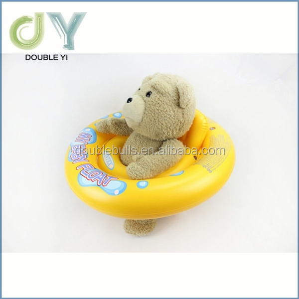 Custom top quality good price Toddler Sit Float Toy Pool Rider Ride Baby Inflatable Raft ( Colors / Styles Vary ) inflatable flo