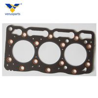Diesel engine parts D905 engine cylinder head gasket fit for Kubota