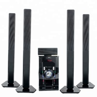 5.1 to 7.1 full home theater surround sound system with subwoofer and receiver