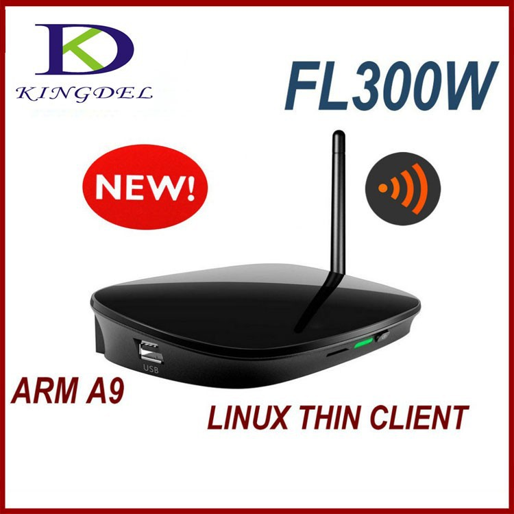 Professional Manufacturer Kingdel micro mini pocket computer Linux in PC station FL300 ARM Dual Core thin client