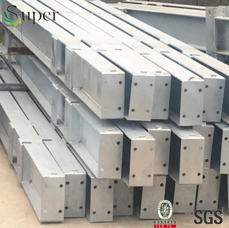 Hot dipped galvanized welding parts for steel structure