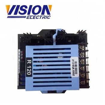 Generator Avr R120 Ac Automatic Voltage Regulator Circuit Diagram - on