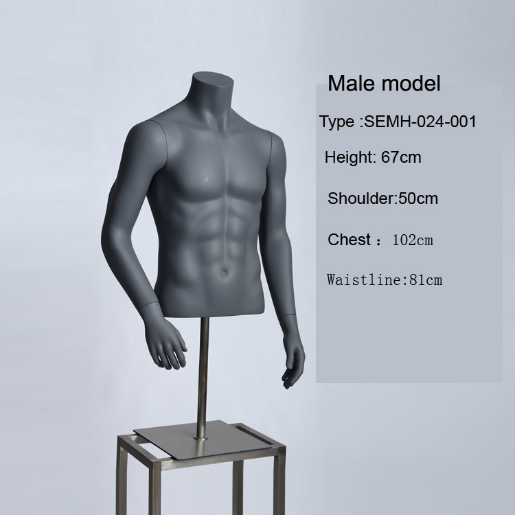 Male Upper Body Mannequin, Male Upper Body Mannequin Suppliers and ...