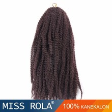 100% kanekalon fiber marley braid hair soft n silky afro kinky twist braid