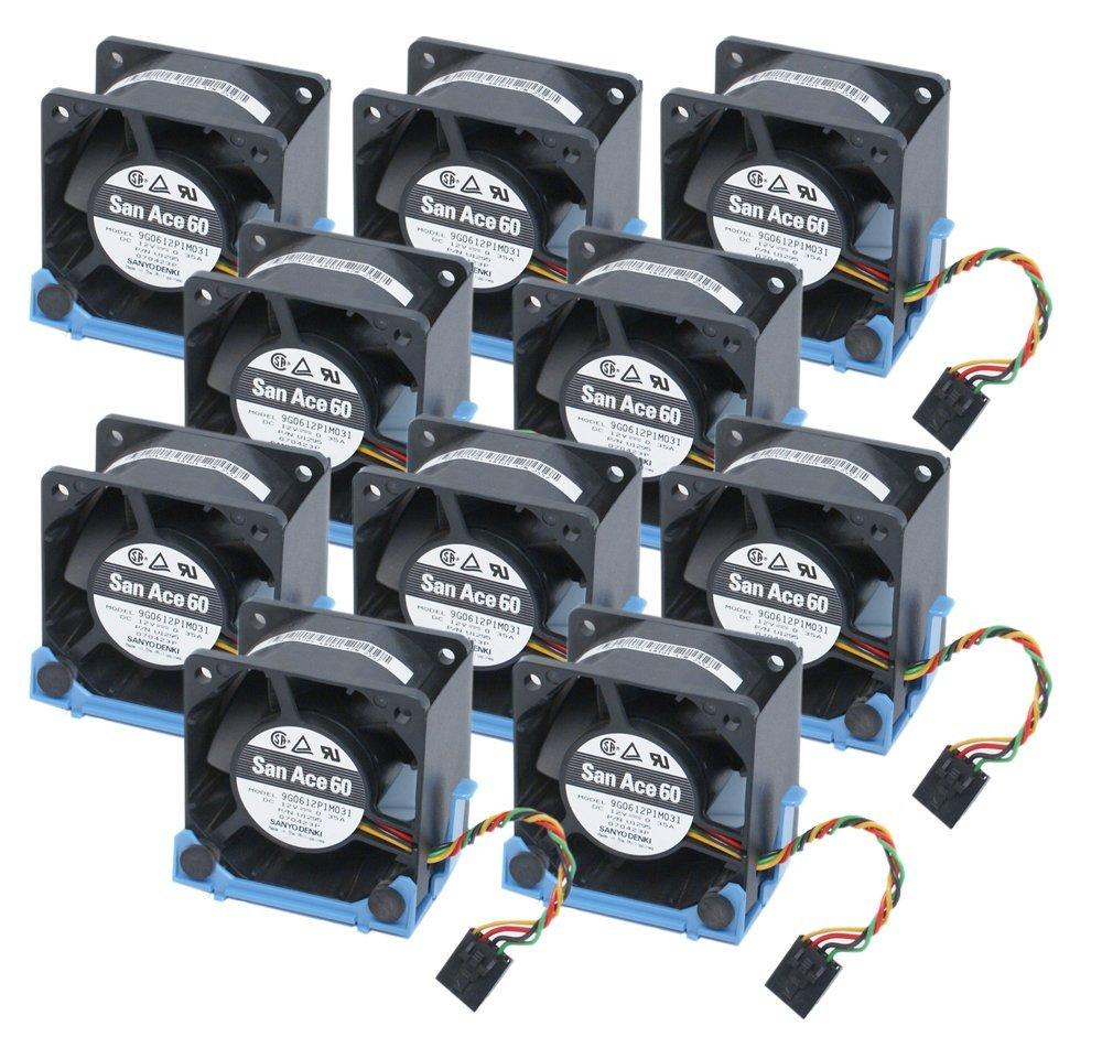 Lot of 2 New Dell OptiPlex GX620 SX280 U8679 WW138 U1295 JT782 KR024 Case Fan