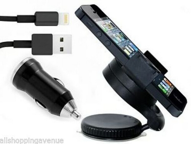 support voiture articule cable usb chargeur voiture noir pour for iphone 5 5s 5c in holders. Black Bedroom Furniture Sets. Home Design Ideas