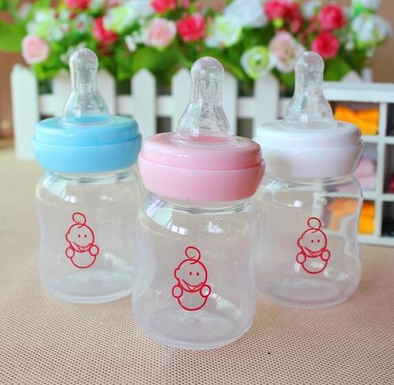60 мл младенцы сок кормление бутылка новорожденные младенцы mini фляжка для сока bpa младенцы кормление бутылка