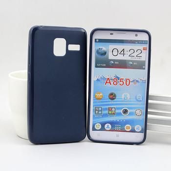 Soft Tpu Mobile Phone Case Back Cover For Lenovo A850