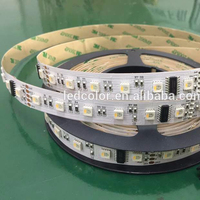 12V/24V 60LEDs SMD 5050 RGBW DMX LED Strip, Programmable 5050 RGBW DMX LED Strip, Waterproof DMX RGBW LED Strip 5M