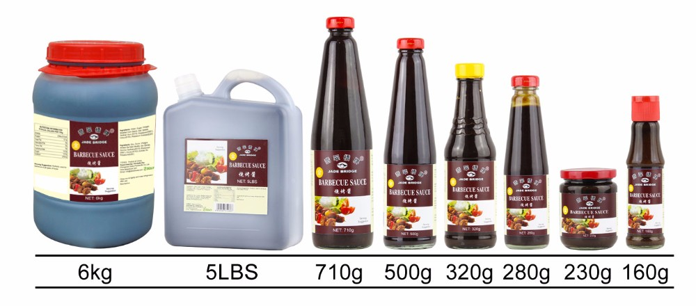 Plastic bottle small lid BBQ Sauce Barbecue Sauce