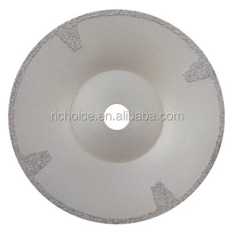 vacuum brazed diamond cup shape saw blade